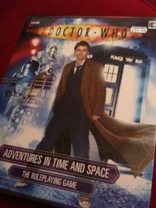 The new Dr Who RPG from Cubicle 7